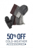 Get 50% Off Cold Weather Accessories