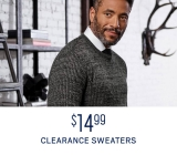 Online Only! $14.99 Clearance Sweaters