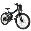Ancheer 26inch 36V Foldable Electric Power Mountain Bicycle with Lithium-Ion Battery