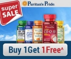 Daylight Savings Sale! Save 15% Off Puritan's Pride Brand items. Plus Free Shipping.