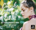 Cupshe Crochet bikini! Get Your Favorite Here!