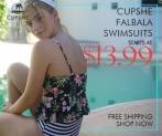 Cupshe Falbala Swimsuits! Starts at $13.99!
