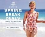 Srping Break Deals! Travel With Cupshe!