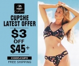 Cupshe Latest Offer – $3 Off $45+!