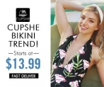 Cupshe Padded Swimsuit! Style Your Life! Shop Now!