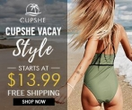 Cupshe Vacay Style – Starts At $13.99!