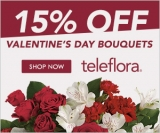 Save 15% on flowers  sitewide.