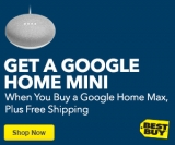 Buy a Google Home Max and Get a Google Home Mini