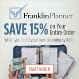 Save 17% on your entire order at FranklinPlanner.