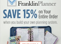 Save 20% on bags at FranklinPlanner