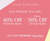 40% Off Full Price Styles