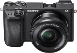 Save $100 on Sony Alpha a6300 Mirrorless Camera with Two Lenses in Black