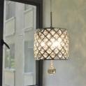 LED Crystal Pendant Lights Dining Room Lamp Cord Hanging Light Fixtures Bar Dimming Light Lamp