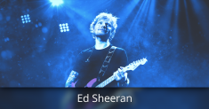 Ed Sheeran Tickets AVAILABLE NOW