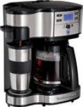 Hamilton Beach - The Scoop 12-Cup Coffeemaker - Black