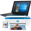 Amazon Renewed Top Deals Of the Week Upto 25% Discount Genuine Brand Offers – HP Notebook – 15-bw026cy Touchscreen, Blue, AMD A6-9220@2.5 GHz, 4GB DDR4 RAM, 1TB HHD, 3PP53UA Windows 10 and HP Deskjet 3755 Printer with Photo Paper (Renewed) At $ 339.85 – Extra Savings with Cashback & Coupons