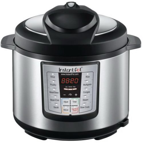 Instant Pot IP-LUX50 Stainless Steel 5-Quart 6-in-1 Multi-Functional Pressure Cooker